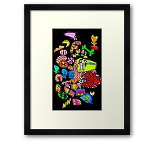 Hyper-Bad Bad Dream Framed Print