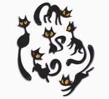 Spooky Kitties One Piece - Long Sleeve
