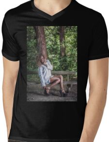 Vanessa Mens V-Neck T-Shirt