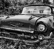1957 Chevy Stationwagon by Edith Reynolds