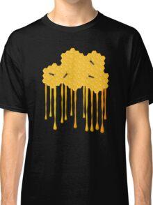 Honey bee hive with honey drip Classic T-Shirt