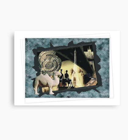 Welcome to voyage Canvas Print