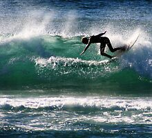 Emerald Surfer by Trevor Farrell