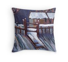 The Magpie Throw Pillow