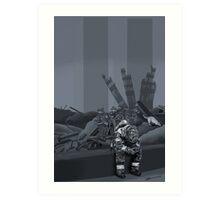 In Memorium 9/11 Art Print