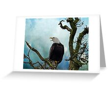 Eagle Art - Character Greeting Card