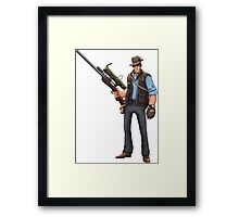 Team Fortress 2 Sniper  Framed Print