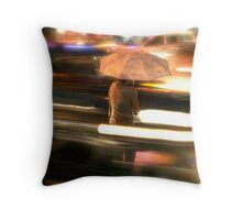 In the eye of the storm  Throw Pillow