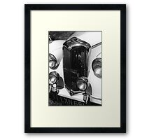 1950 Riley 2.5 litre Drophead Saloon Framed Print