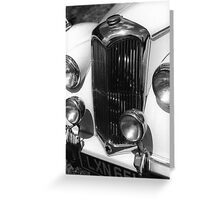 1950 Riley 2.5 litre Drophead Saloon Greeting Card