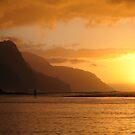 Hawaiian sunset by Alastair Humphreys