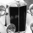 1952 M.G.T.D. Sports Car by Peter Sandilands
