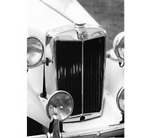 1952 M.G.T.D. Sports Car Photographic Print