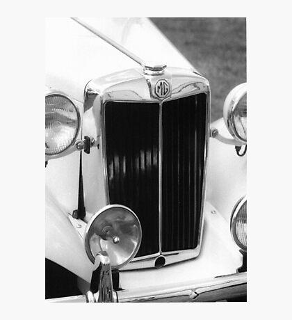 1952 M.G.T.D. Sports Car Photographic Print