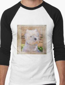 Dog Art - Just One Look Men's Baseball ¾ T-Shirt
