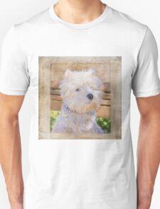 Dog Art - Just One Look Unisex T-Shirt