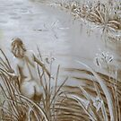 Underpainting -Lady by the Lake- by ienemien