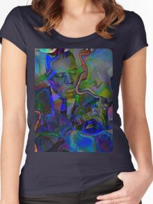 Da Wolf Women's Fitted Scoop T-Shirt