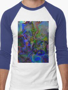 Da Wolf Men's Baseball ¾ T-Shirt