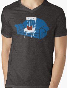 Lazy Chair Mens V-Neck T-Shirt