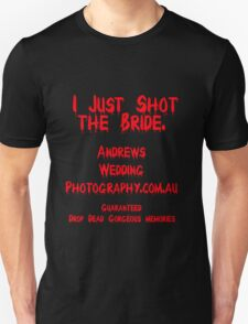 The Wedding photographer you don't expect T-Shirt