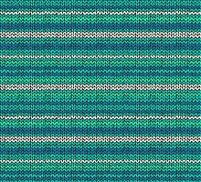 Knitted Pattern Set 2 - Blue/Green by wrapsio