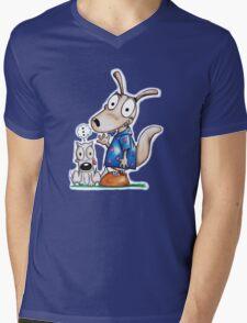 Classic Pals Mens V-Neck T-Shirt