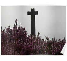 north yorkshire moors cross Poster