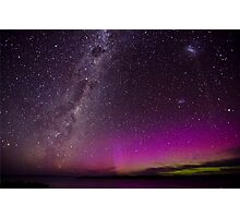 Tasmania and it's Southern Lights Photographic Print