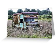 Field of Ford Greeting Card