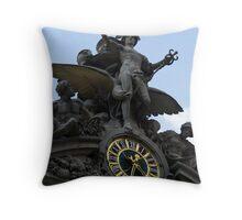 Grand Central Sculpture Throw Pillow