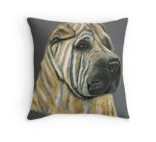 Kruger - Shar-Pei Throw Pillow