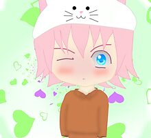 Chibi Genderbent Toeto - Vocaloid by sugoi-kawaii