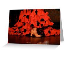 Flamenco nights Greeting Card