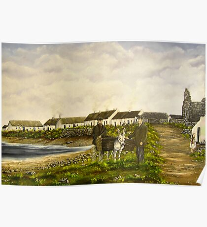 """""""Those were the days - Scattery Island, County Clare, Ireland"""" Poster"""