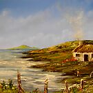 """Little Cottage in Ireland"" - oil paintng by Avril Brand"