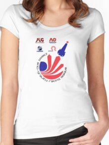 WipEout - F3600 League  Women's Fitted Scoop T-Shirt