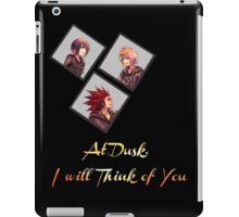 At Dusk, I will Think of You iPad Case/Skin
