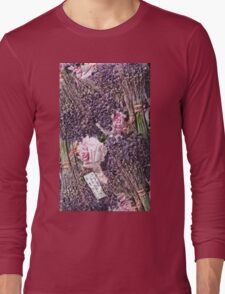 """Exclusive: """" The eternal provence rose of love """" / My Creations Artistic Sculpture Relief fact Main 30  (c)(h) by Olao-Olavia / Okaio Créations Long Sleeve T-Shirt"""