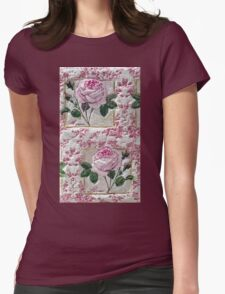 """Exclusive: """" a love ROSES """" / My Creations Artistic Sculpture Relief fact Main 28  (c)(h) by Olao-Olavia / Okaio Créations Womens Fitted T-Shirt"""