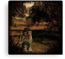 Rumpelstiltskin (portrait of a fairytale antagonist) Canvas Print