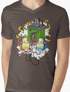 Soundbox Mens V-Neck T-Shirt