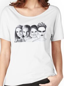 The Many Faces of Natalie Portman Women's Relaxed Fit T-Shirt