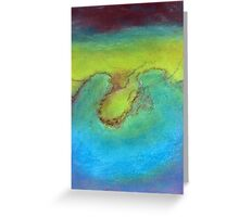 Water's landscape Greeting Card