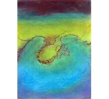 Water's landscape Photographic Print