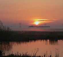 SUNRISE AT EASTER MORNING by Johan  Nijenhuis