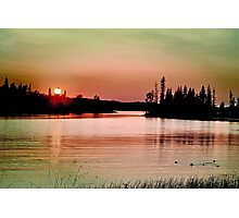 Caddy Lake, Whiteshell Provincial Park, Manitoba Photographic Print