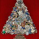 Vintage Jewelry Christmas Tree by Karol Franks
