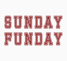 Sunday Funday T-Shirt Kids Clothes