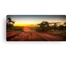 Old Coach Trail Canvas Print